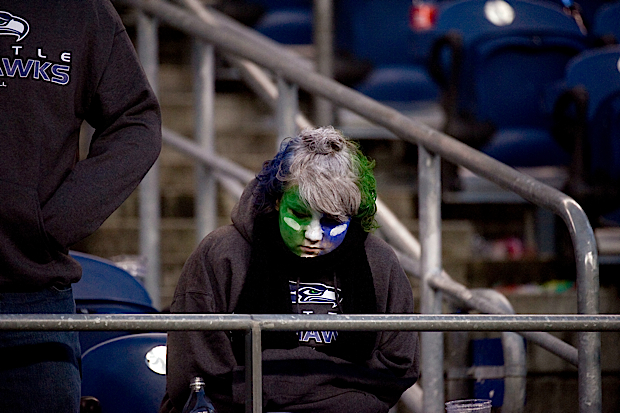 Seahawks fans came away disappointed with their team's second home loss in as many games. Carolina comes to town next weekend.