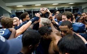 """In the locker room after the game, coach Pete Carroll told his team that """"this is not how we want to play"""" and that they would start fresh on Monday morning in preparation for the Carolina Panthers."""