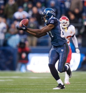 Wide receiver Ben Obomanu continued his fine play, getting behind the Kansas City secondary to haul in an 87-yard touchdown pass from Matt Hasselbeck.