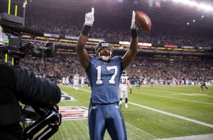 Williams then saluted the 12thMan as an NBC camera beamed his pose to the rest of the country.