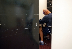 Hours before kickoff, defensive coordinator Gus Bradley reviewed his game plan in a far corner of the locker room.