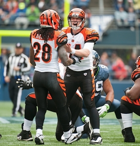 The 12th MAN raised their voices loud enough to force Bengals quarterback Andy Dalton to shout adjustments to teammates at the line of scrimmage.