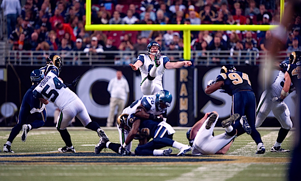 Seahawks punter Jon Ryan continued his fine play, landing four punts inside the St. Louis 20-yard line.