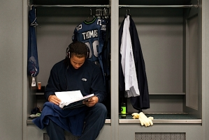 Hours before kickoff, safety Earl Thomas sat alone at his locker, studying his playbook before facing the Ravens.