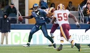 Seattle's fourth quarter woes were evident when Jackson was sacked on fourth down with just over two minutes remaining in the game.