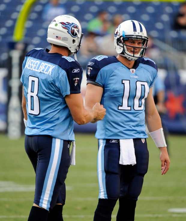 Jake Locker Matt Hasselbeck
