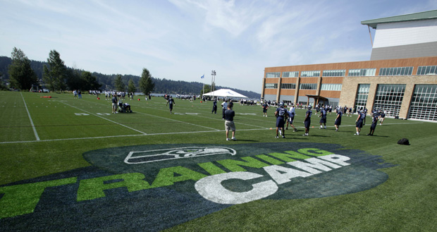 Seahawks training camp dates in Melbourne