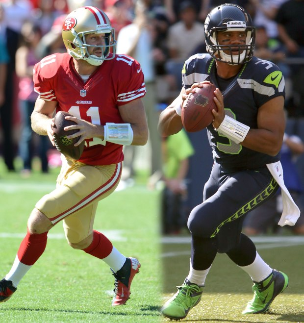 Alex Smith, Russell Wilson