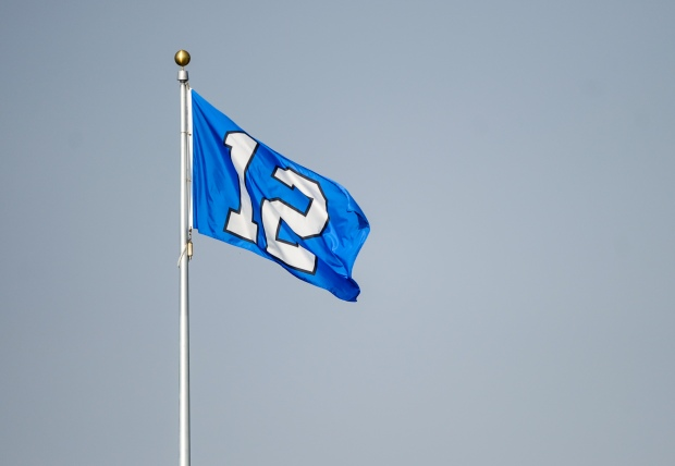 Seahawkscom Blog On this date  12th Man flag raised for first time PITcPcld