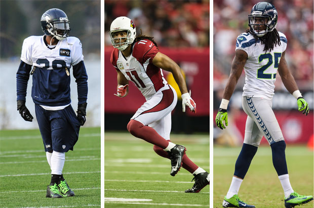 Walter Thurmond, Larry Fitzgerald, Richard Sherman
