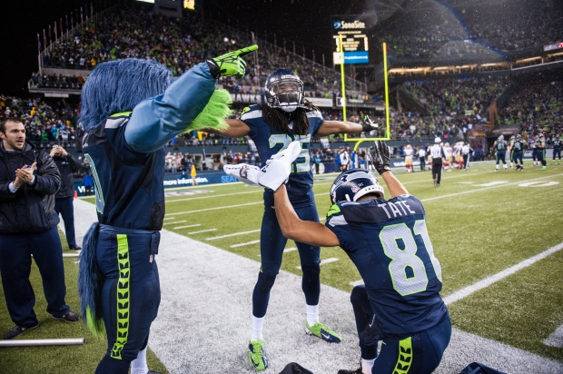 Richard Sherman, Golden Tate