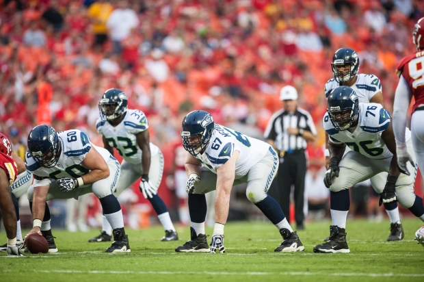 Max Unger, Russell Okung