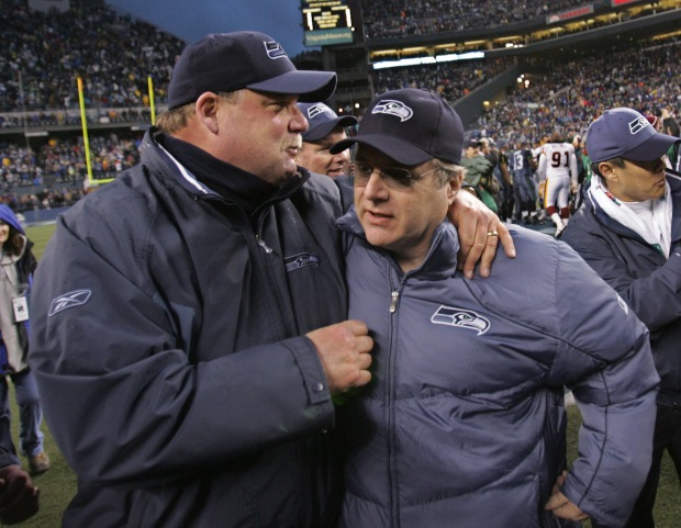 Mike Holmgren, Paul Allen