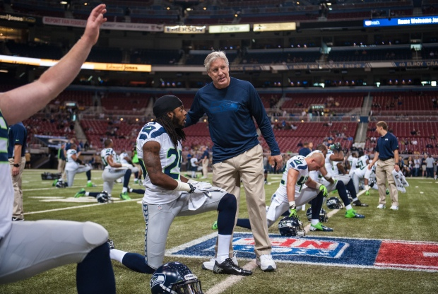 Richard Sherman & Pete Carroll