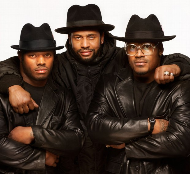 Trent Richardson, LaMarr Woodley, Marshawn Lynchhttp://espn.go.com/espn/photos/gallery/_... L TO R: Trent Richardson, LaMarr Woodley, Marshawn Lynch as Run DMC. Photographer: Matthias Clamer, Los Angeles 1/19/13