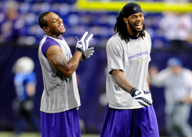 Percy Harvin, Sidney Rice