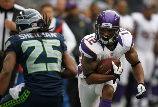 Percy Harvin, Richard Sherman