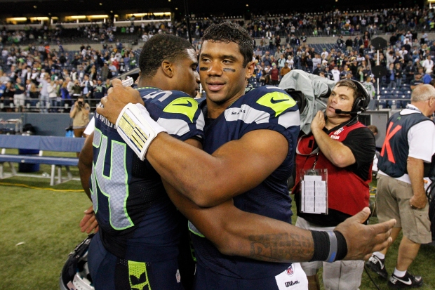 Bobby Wagner, Russell Wilson