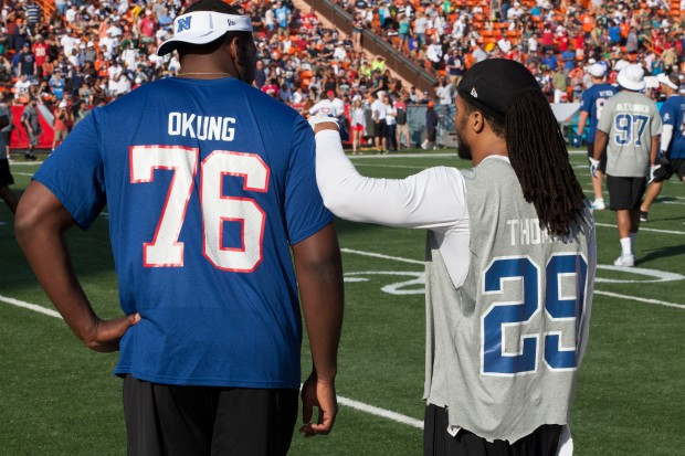 Russell Okung, Earl Thomas